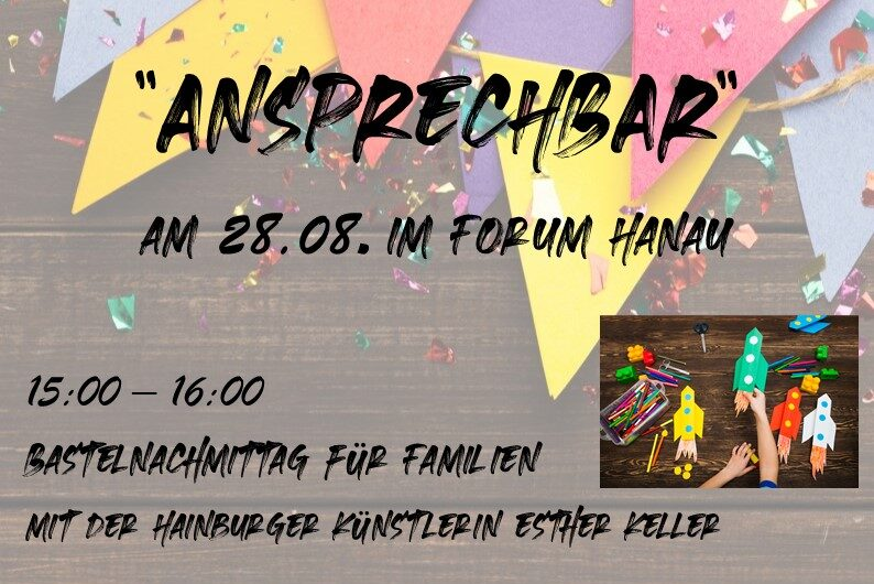 """Featured image for """"City-Pastoral mit """"ANSPRECHBAR"""" am 28.08. im Forum Hanau"""""""
